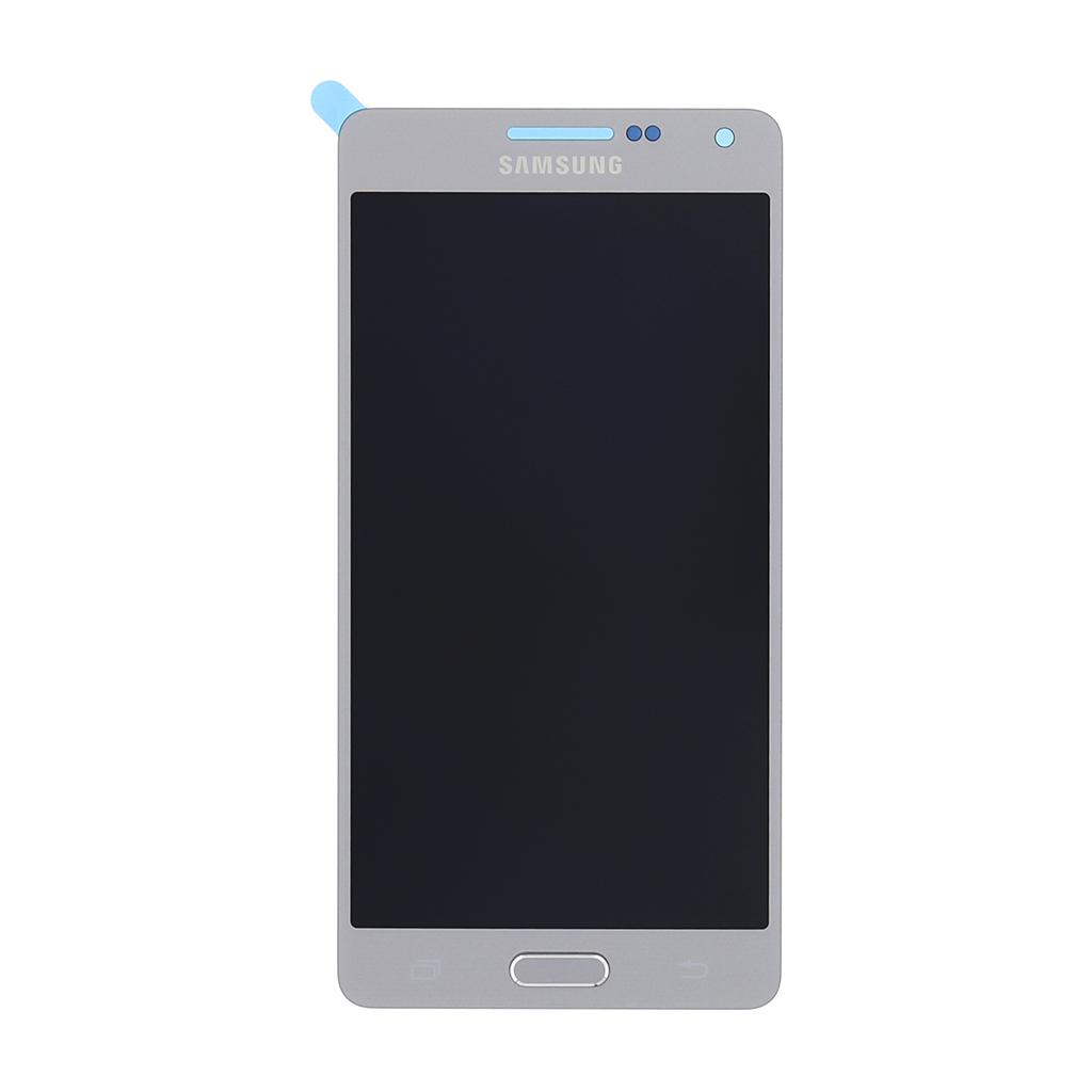 LCD display + dotyk. deska pro Samsung Galaxy A5 (A500F), stříbrná