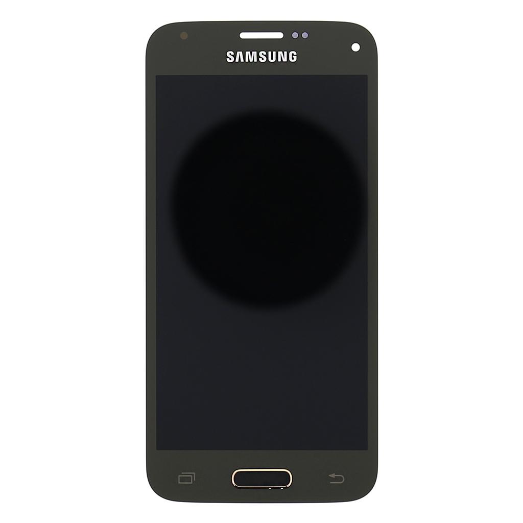 LCD + dotyk. deska pro Samsung Galaxy S5mini, zlatá