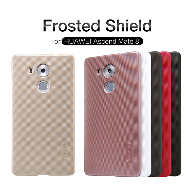 Zadní kryt Nillkin Super Frosted pro Huawei Mate 8 černý