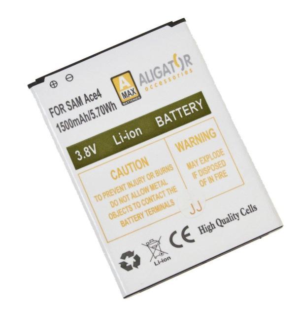 Baterie Aligator EB-BG357BB pro Samsung Galaxy Ace 4 (G357) 1500mAh