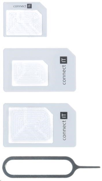 CONNECT IT redukce na SIM kartu