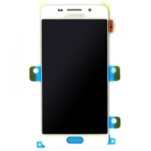 LCD display + dotyk. deska pro Samsung Galaxy A3 2016 (A310), bílá