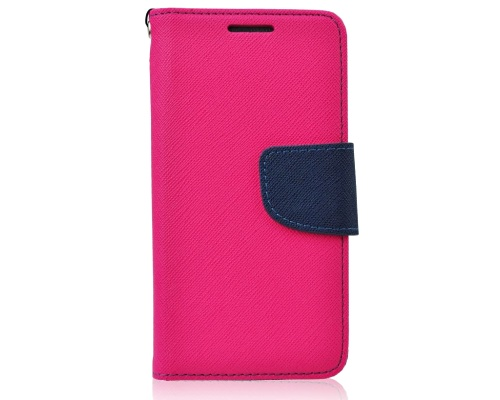 MERCURY Fancy Diary flipové pouzdro pro LG K10 (K420N) růžovo-modrá