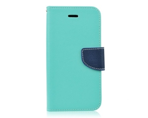 Mercury Fancy Diary flipové pouzdro pro Microsoft Lumia 650 mátovo-modré