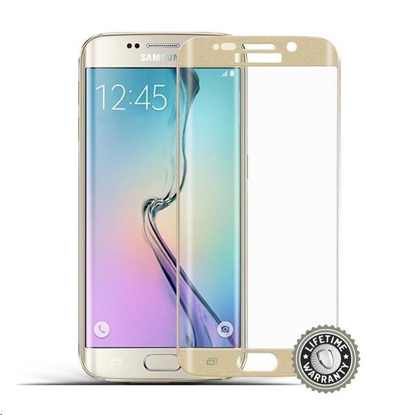 Screenshield tvrzené sklo Samsung Galaxy S6 edge gold