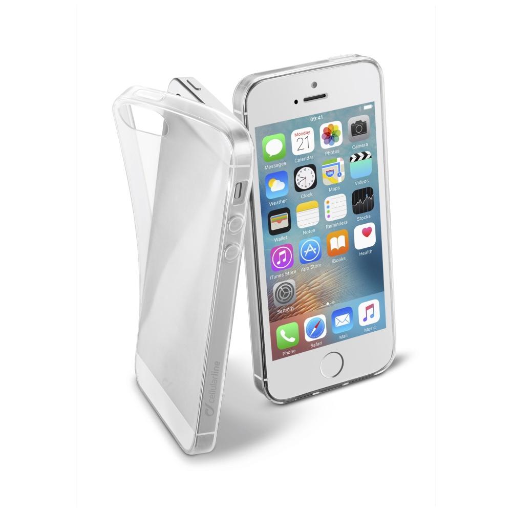 CellularLine Fine Extratenké pouzdro Apple iPhone 5/5S/SE bezbarvé