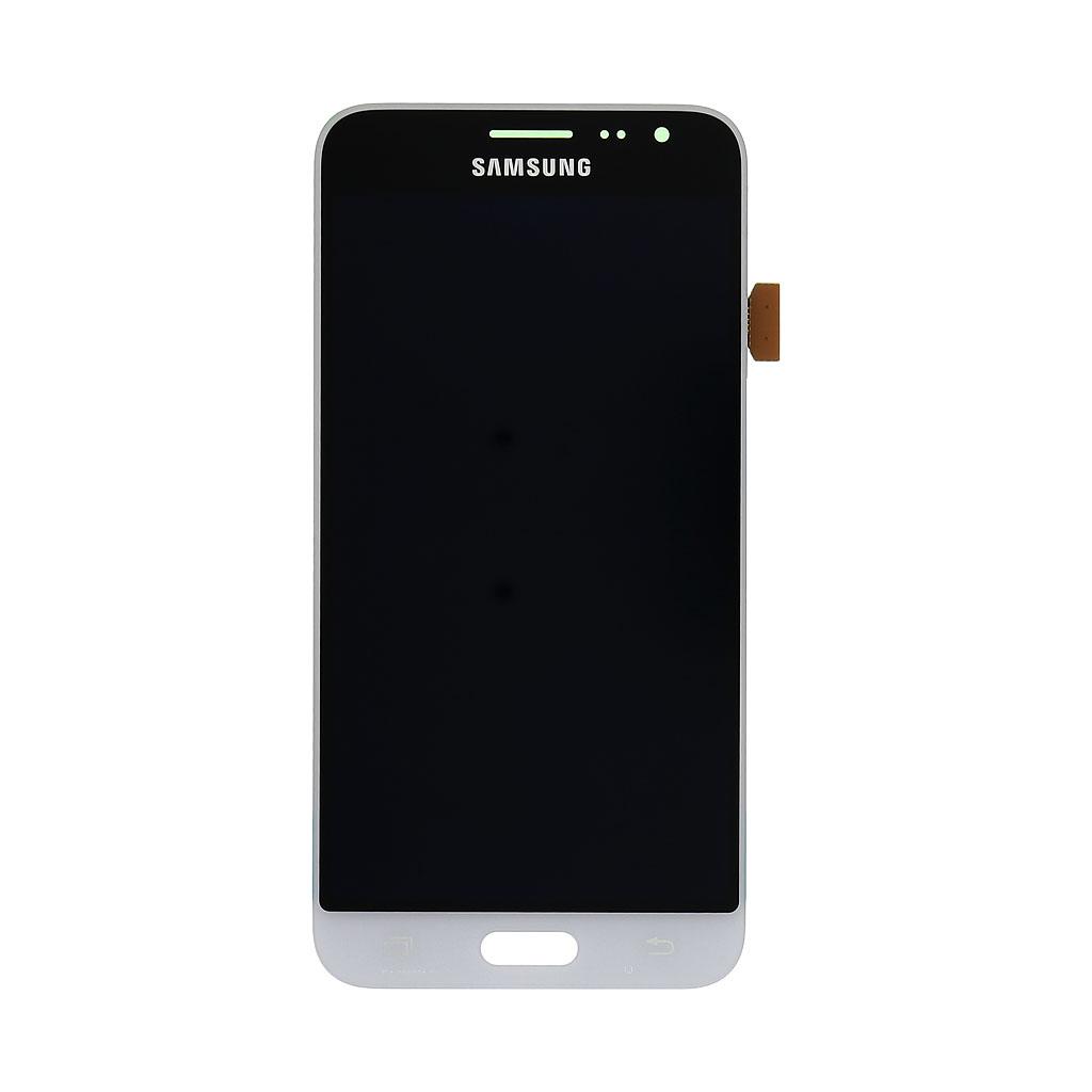 LCD display + dotyková deska pro Samsung Galaxy J3 (2016) J320, bílá (Service Pack)
