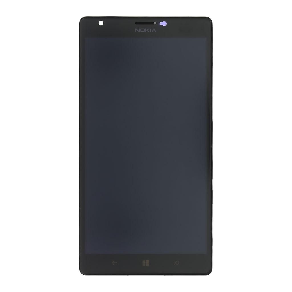 LCD display + dotyková deska pro Nokia Lumia 1520, černá