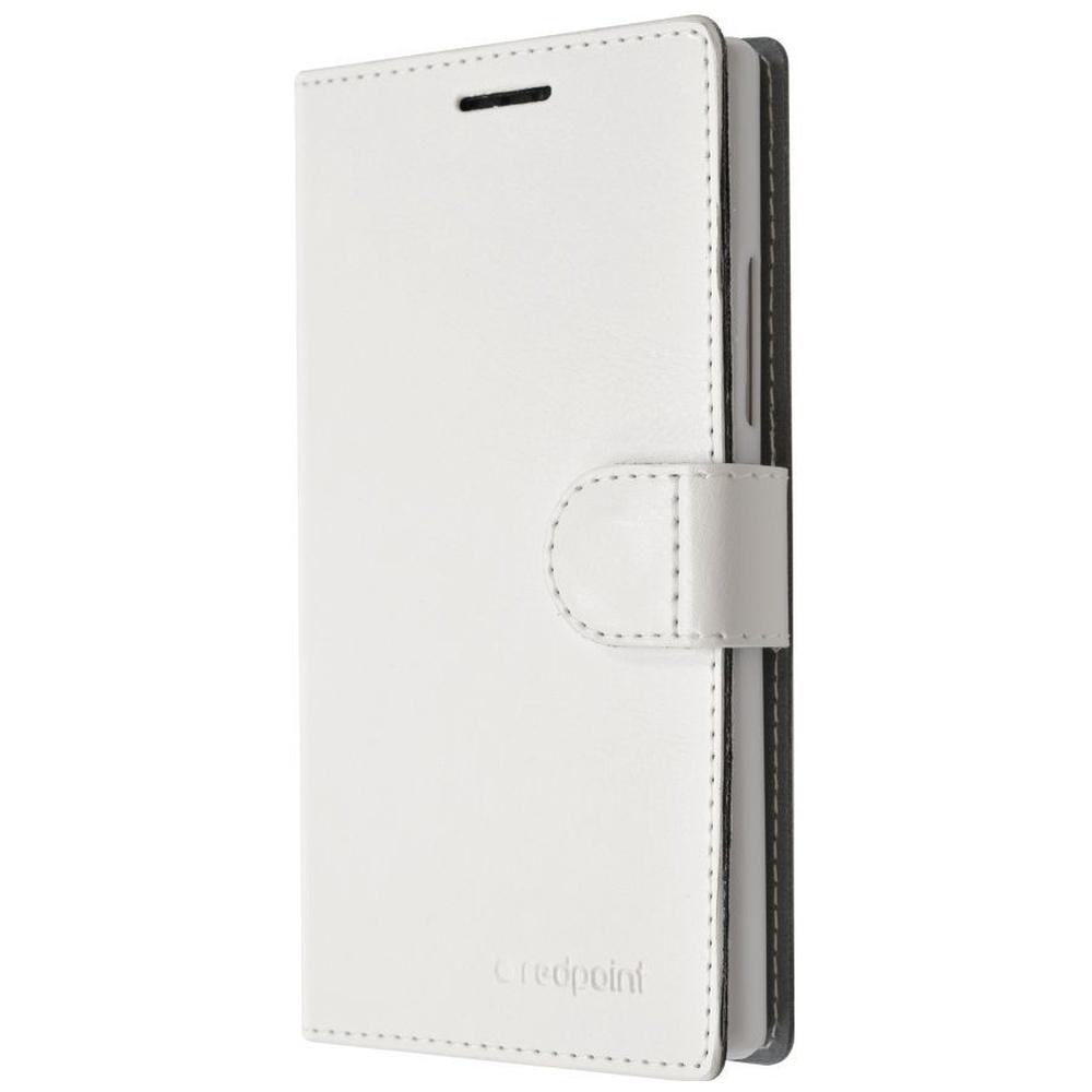FIXED FIT RedPoint flipové pouzdro Huawei Y6 bílé