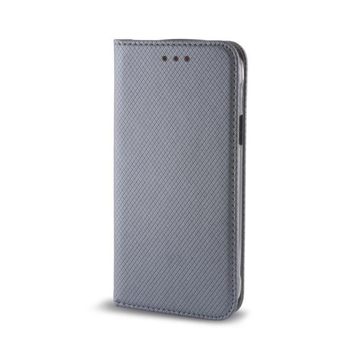 Smart Magnet flipové pouzdro Huawei P8 Lite steel