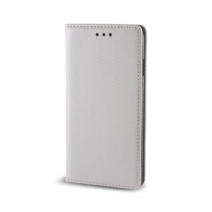 Smart Magnet flipové pouzdro Samsung Galaxy S6 metalic