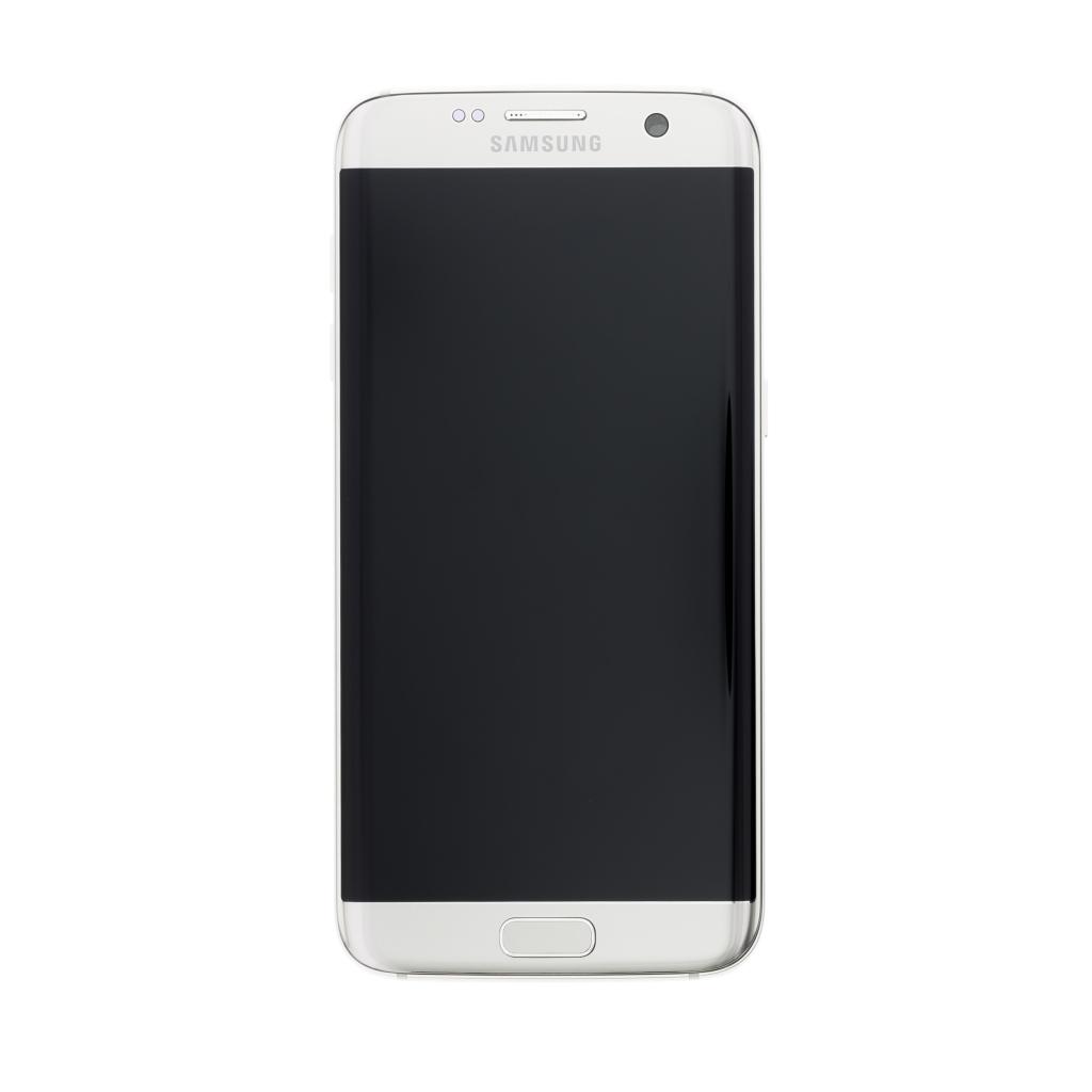 LCD display + dotyk. deska pro Samsung Galaxy S7 Edge (G935), stříbrná