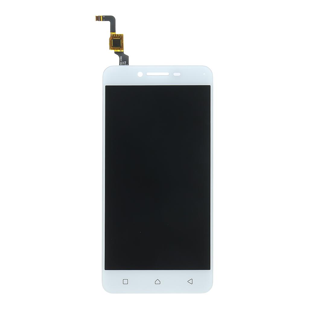 LCD display + dotyková deska pro Lenovo K5, stříbrná