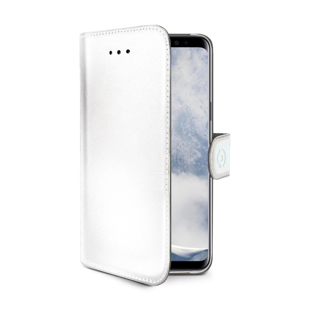 CELLY Wally flipové pouzdro pro Apple iPhone 7/8 bílé