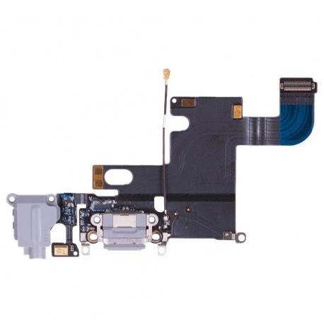 Apple iPhone 6S Nabíjecí Dock + Audio Jack Konektor Flex Space Grey