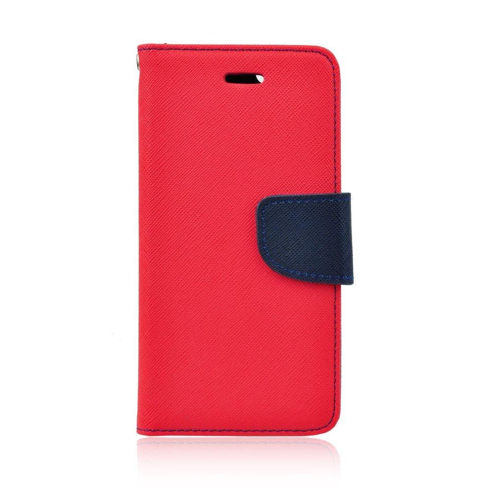 Fancy Diary flipové pouzdro Nokia 230 červené-modré