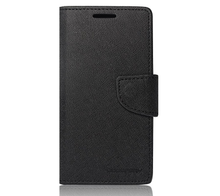 Fancy Diary flipové pouzdro Lenovo K5/ K5 Plus černé