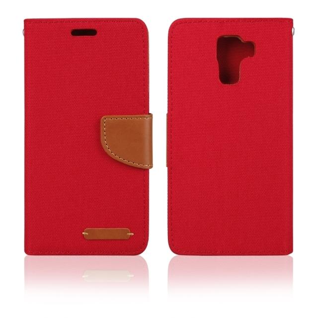 Aligator BOOK FANCY PRO flipové pouzdro Samsung Galaxy S7 červené