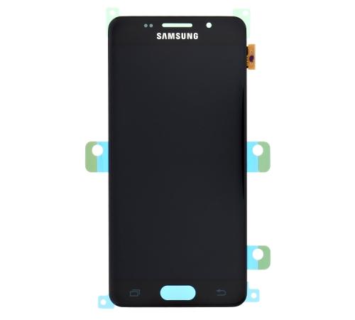 LCD displej + dotyková deska pro Samsung Galaxy A3 (2016) A310F, černá