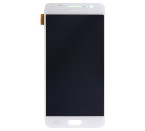 LCD displej + dotyková deska pro Samsung Galaxy J5 (2016) J510F, bílá