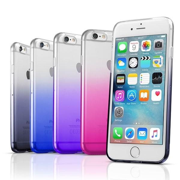CellularLine SHADOW Ultratenké pouzdro pro Apple iPhone 7, červený