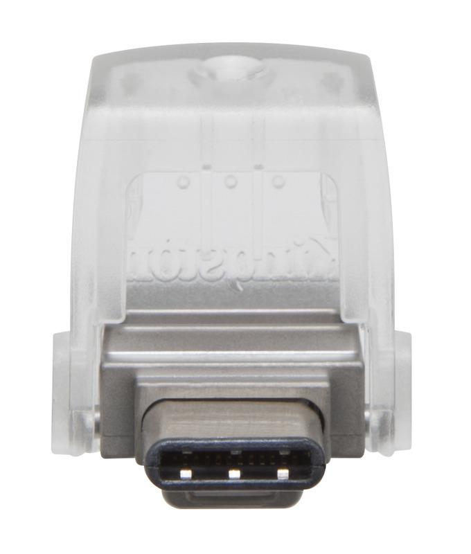 OTG flash disk Kingston DT microDuo 3C 32GB USB-C / USB 3.0