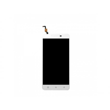 LCD display + dotyková deska pro Lenovo K5 Plus, bílá