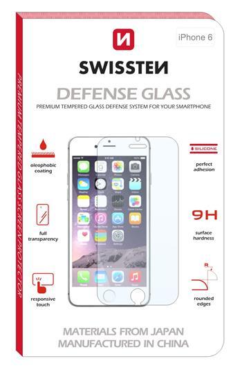 Tvrzené sklo SWISSTEN 2,5D pro Apple iPhone 5/5s