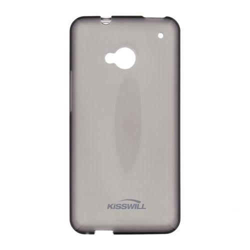 Kisswill silikonové pouzdro pro Apple iPhone 7 černé