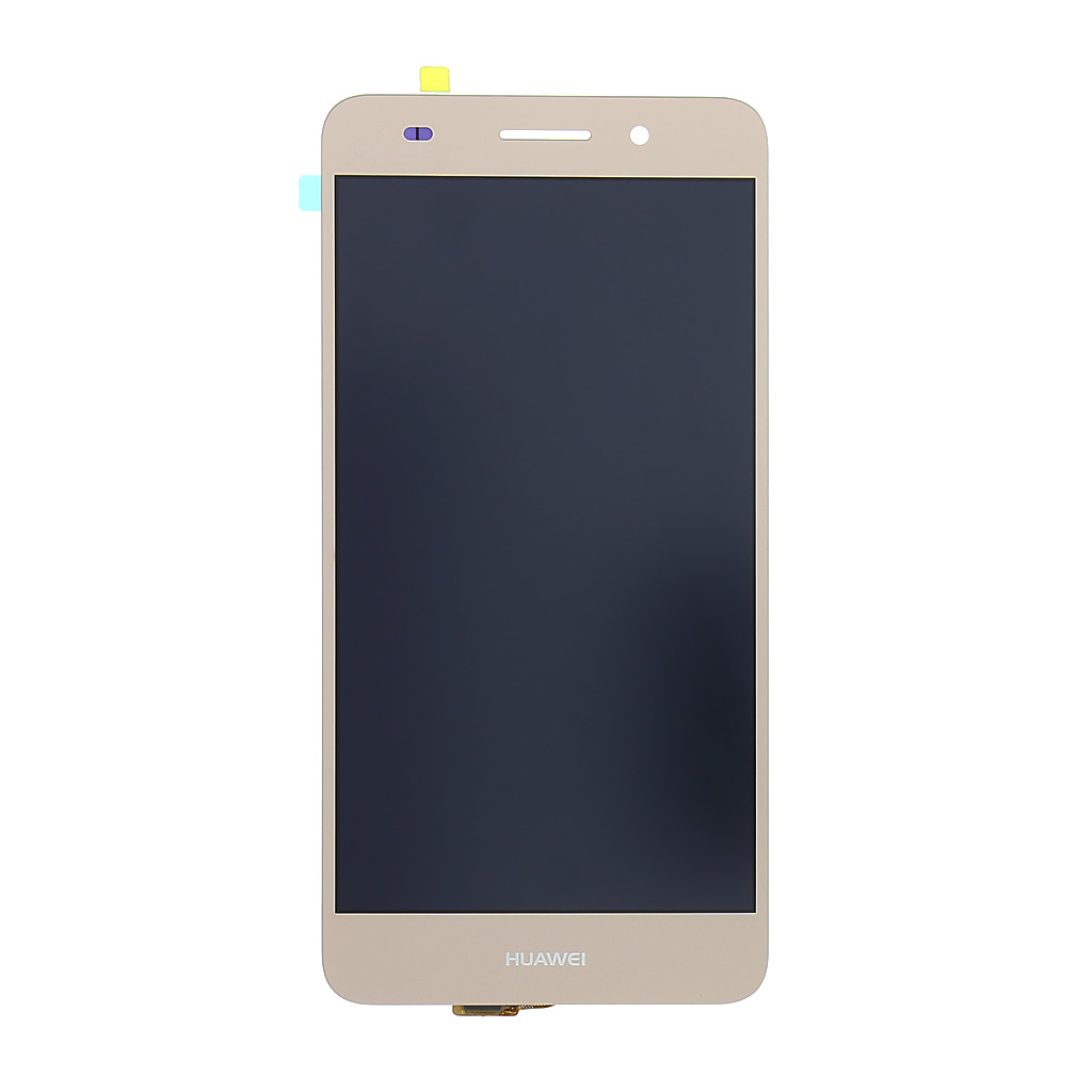 LCD displej + dotyková deska pro Huawei Y6 II, zlatá