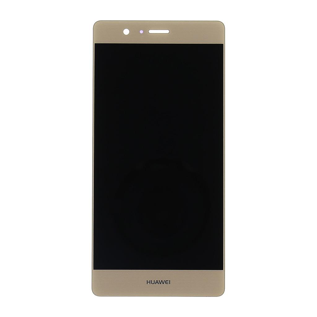 LCD displej + dotyková deska pro Huawei P9 Lite, zlatá