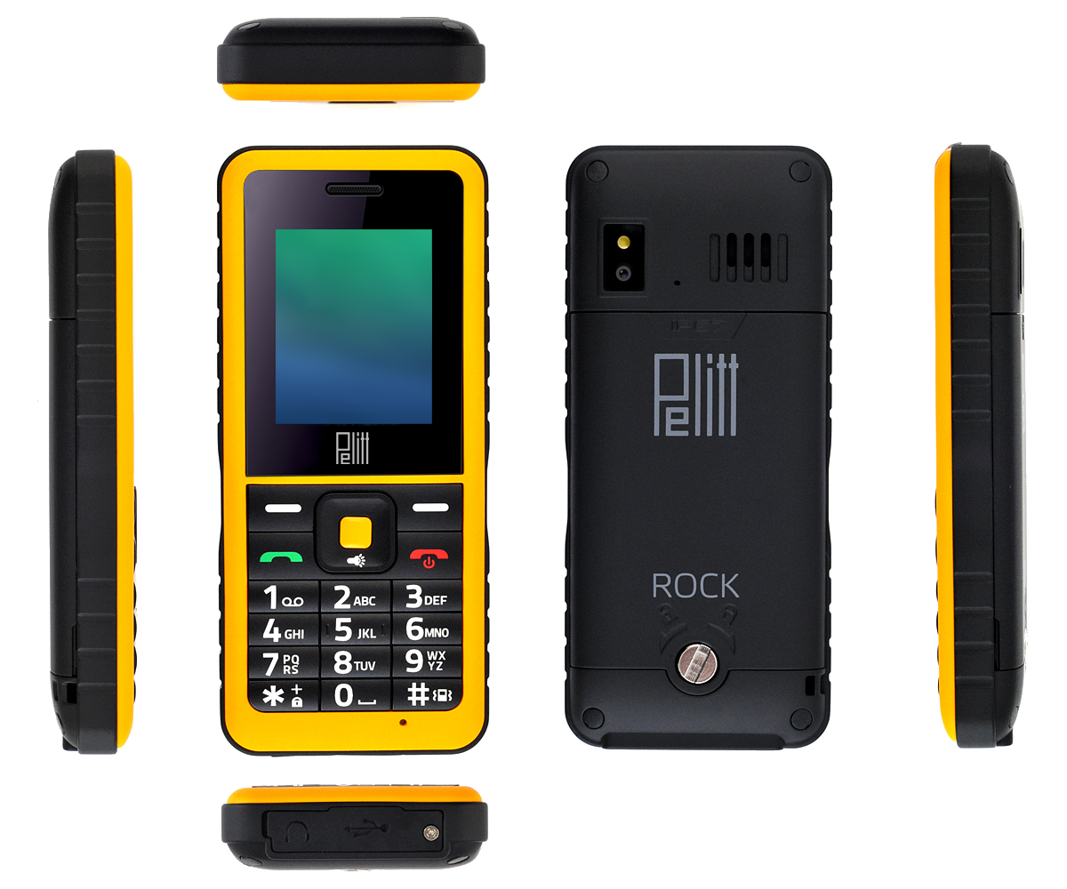 mobilní telefon Pelitt Rock