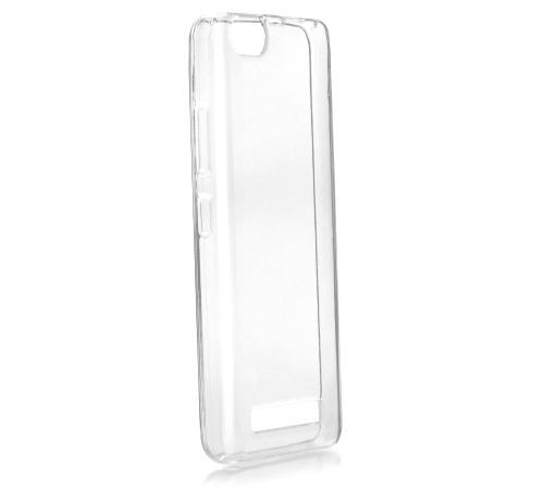 Ochranný zadní kryt Forcell Ultra Slim 0,5mm pro Lenovo VIBE C bezbarvý