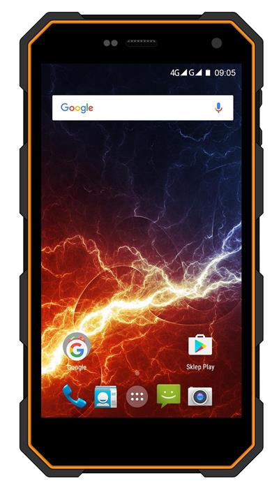 myPhone Hammer Energy LTE, Orange-Black