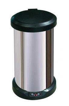 Progres bezdotykový odpadkový koš 12L, nerezový senzorový
