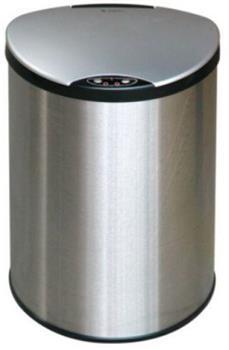 Petit bezdotykový odpadkový koš 9 L, nerezový senzorový