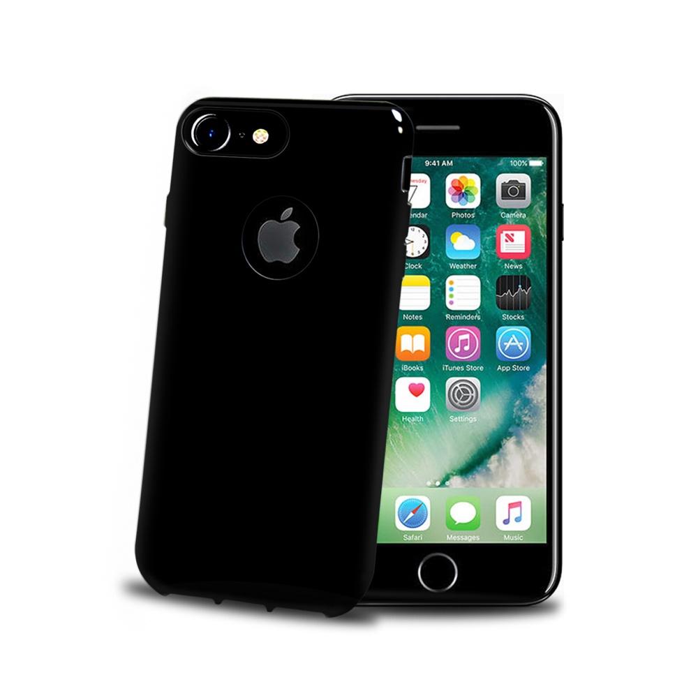 CELLY Gelskin silikonové pouzdro pro Apple iPhone 7 Plus, Black Edition