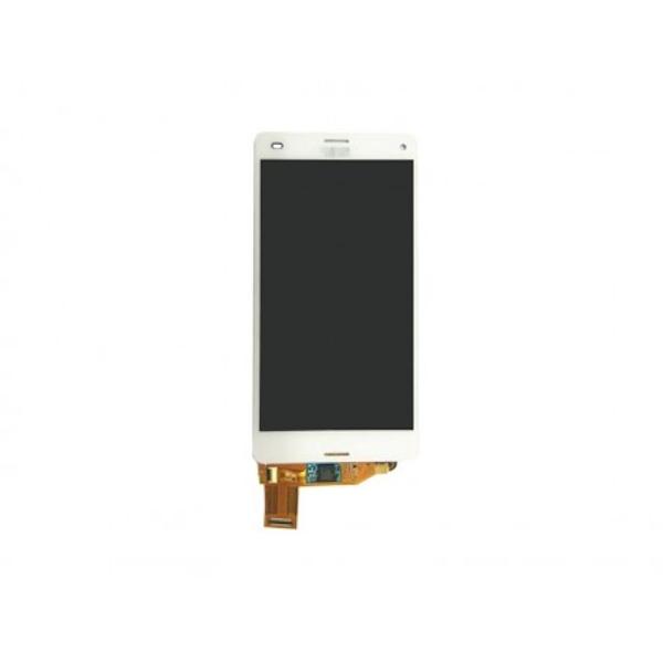 LCD display, dotyková deska a rámeček pro Sony Xperia Z3 White