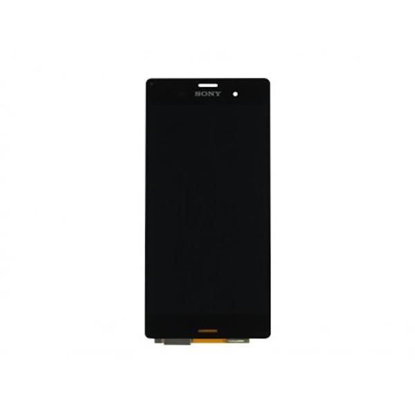 LCD display, dotyková deska a rámeček pro Sony Xperia Z3 Black