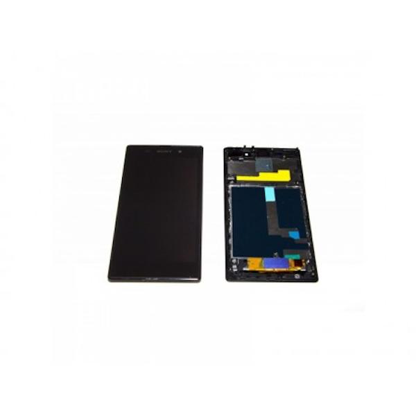 LCD display, dotyková deska a rámeček pro Sony Xperia Z1 Black