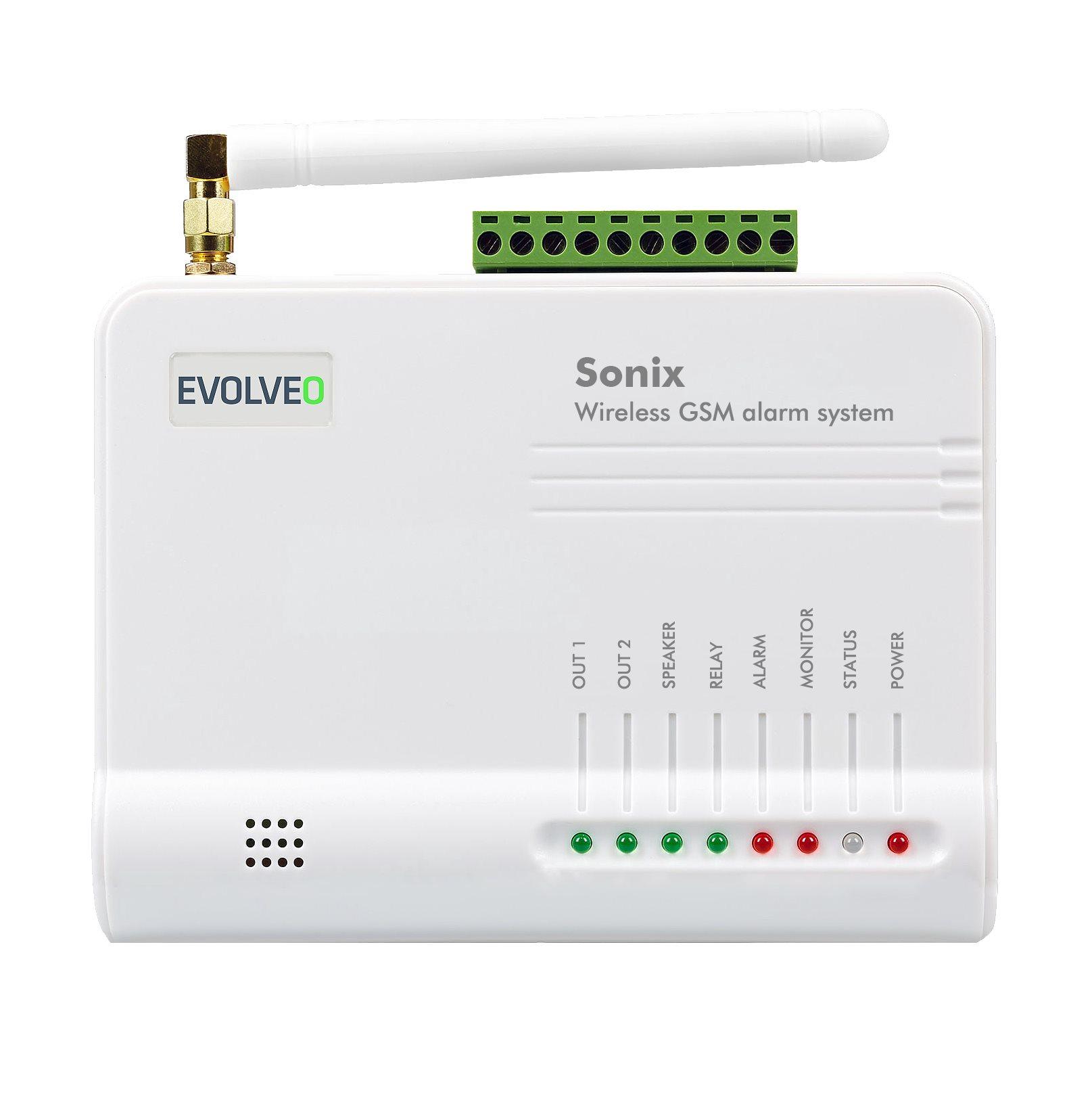 EVOLVEO Sonix - bezdrátový GSM alarm