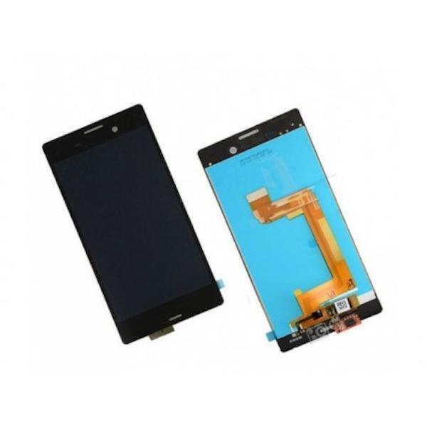 LCD display, dotyková deska a rámeček pro Sony M4 Black