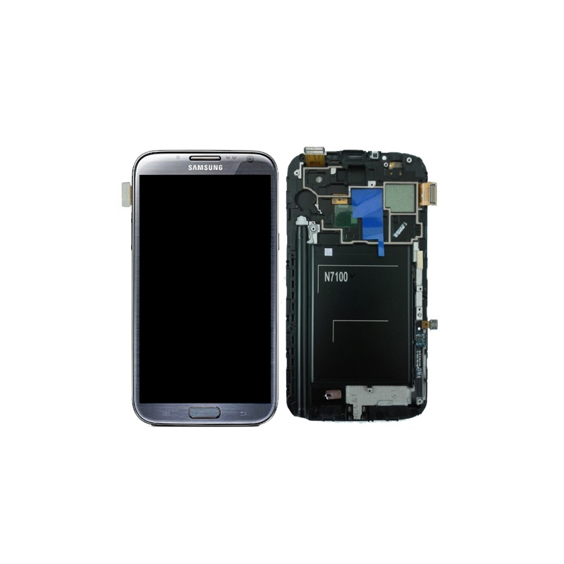 LCD + dotyková deska pro Samsung Galaxy Note 2 (N7100) Black