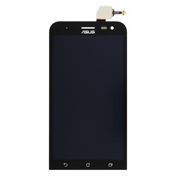 LCD display, dotyková deska a rámeček pro Asus Zenfone 2 Laser ZE500KL Black