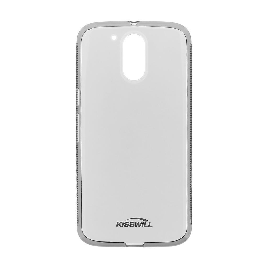 Kisswill silikonové pouzdro pro Motorola G4 Plus černé
