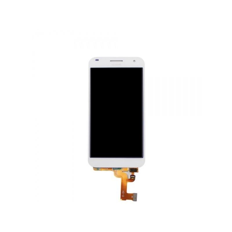 LCD + dotyk + rámeček pro Huawei G7, white OEM