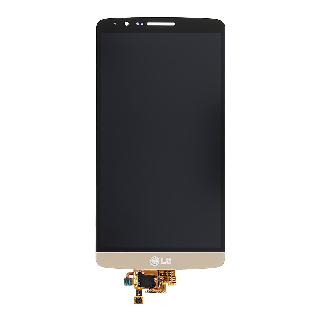 LCD + dotyk deska LG G3 D855, gold