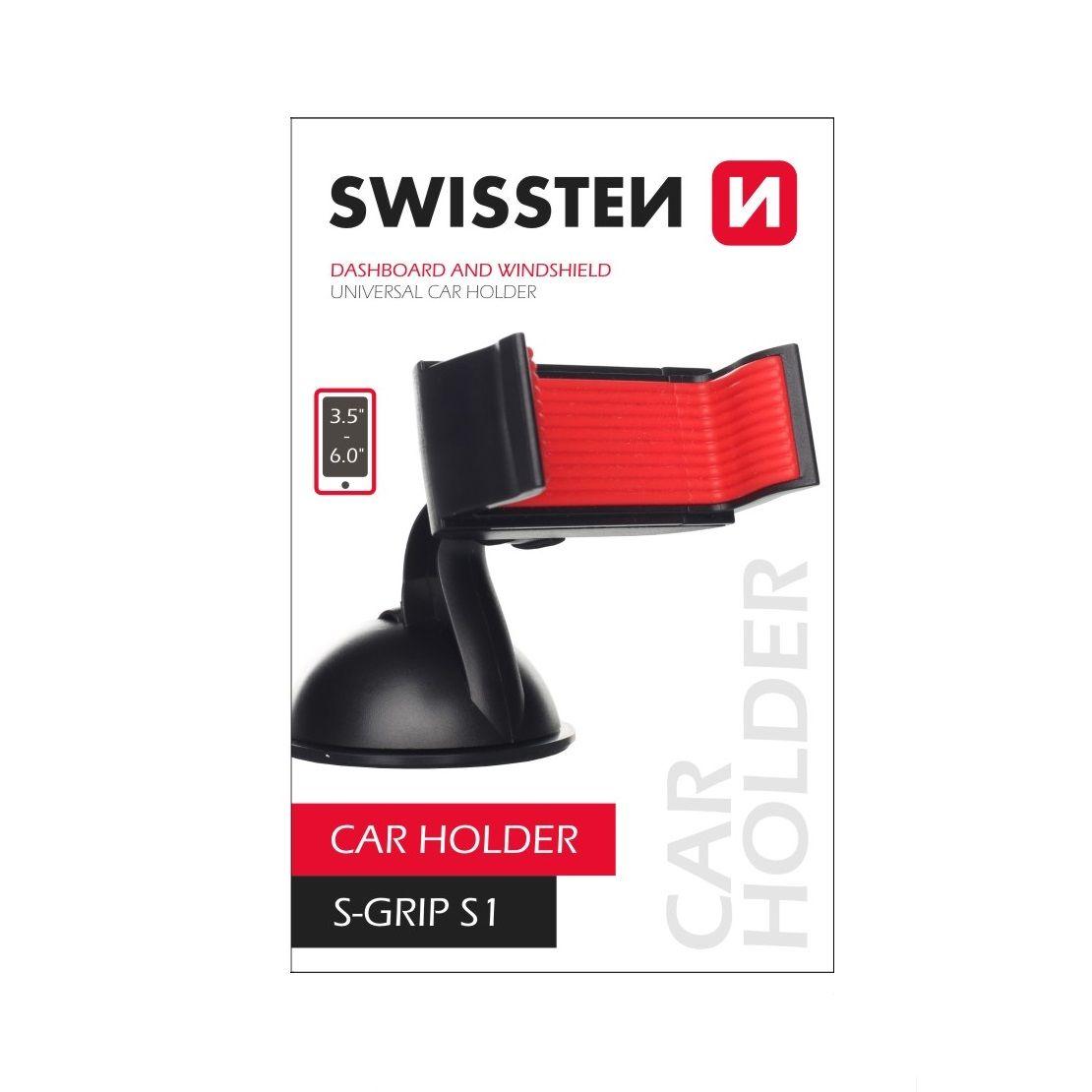 Swissten držák do auta univerzální s nano podložkou, S-GRIP S1 (Blister)