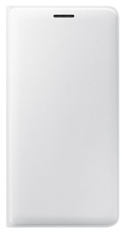 Samsung flipové pouzdro s kapsou EF-WJ320PWE pro Samsung Galaxy J3 2016 White