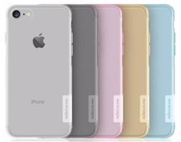 Nillkin Nature silikonové pouzdro pro Apple iPhone 7, Clear